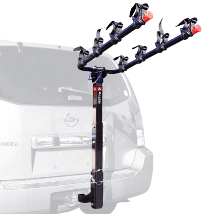 bike racks for campervans Allen Sports Deluxe 4-Bike Hitch Mount Rack with 2-Inch Receiver Vansage
