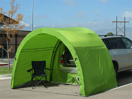 Campervan Awning Tents ArcHaus Shelter and Tailgate Tent Vansage