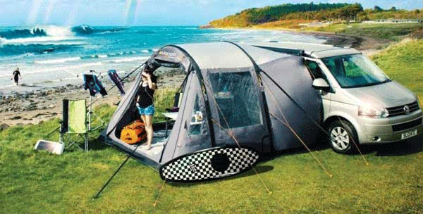 Choose the best campervan awning tents for your particular van
