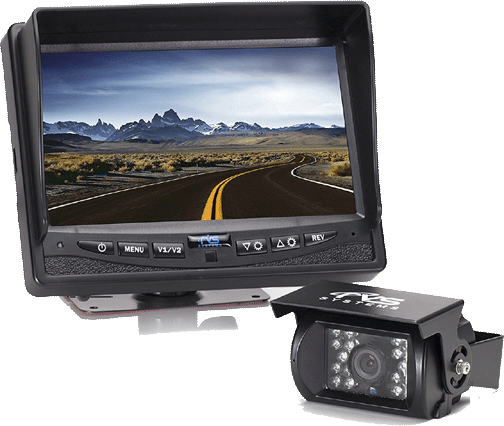 "Backup Camera for Campers Rear View Safety Backup Camera System with 7"" Display Vansage"