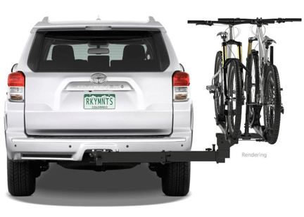 "Bike racks for campervans RockyMounts Backstage 2-Bike 2"" Vansage"