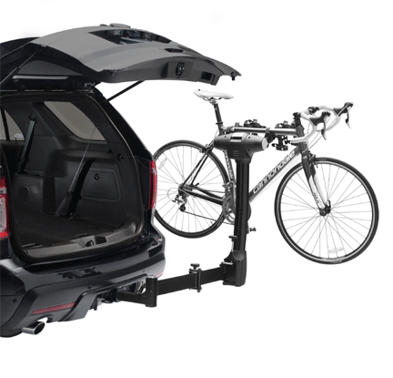 bike racks for campervans Thule Vertex Swing 4 Bike Rack Vansage