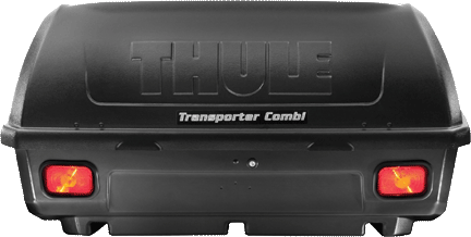trailer hitch cargo box THULE 665C Transporter Combi Hitch Box Vansage
