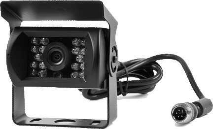 Backup Camera for Campers Rear View Safety 130° CCD Back Up Camera with 18 Built in Infra-reds Vansage