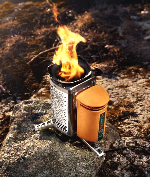 best portable camping stoves biolite vansage