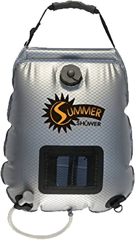 Campervan Showers Advanced Elements 5 Gallon Solar Shower Vansage The
