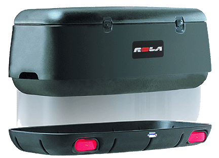 trailer hitch cargo boxes ROLA 59109 Adventure System with Swing Away Vansage
