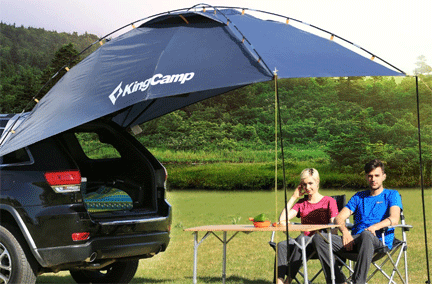 Best Campervan Awning KingCamp COMPASS Awning Vansage