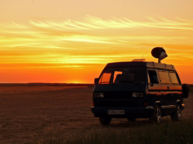 Vansage Converting a van to live in