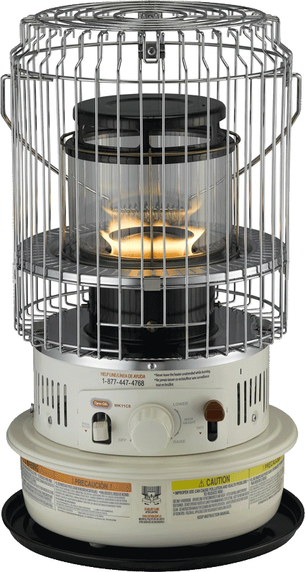 Vansage Campervan Heaters Dyna-Glo WK11C8 Indoor Kerosene Heater