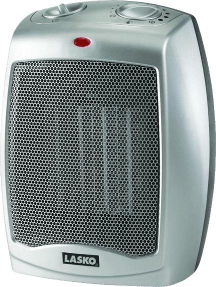 VanSage Heaters for Campervans Lasko 754200 Ceramic Heater with Adjustable Thermostat