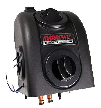 VanSage Heaters for Campervans Maradyne H-400012 Santa Fe 12V Floor Mount Heater