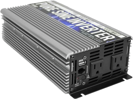 Vansage.com TechOn 1000 Vansage power inverter for campervan