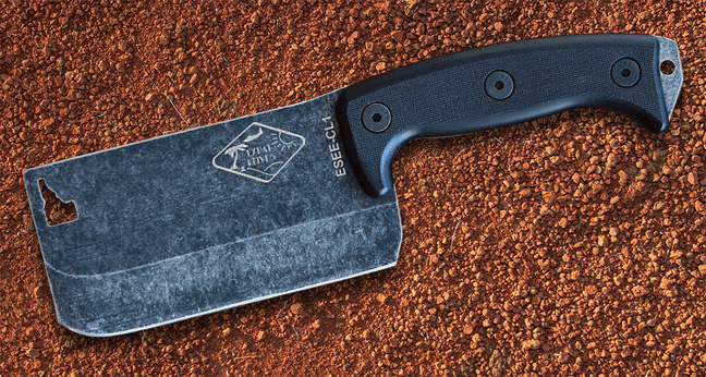 Campsite Cooking Equipment Vansage Esee Cleaver