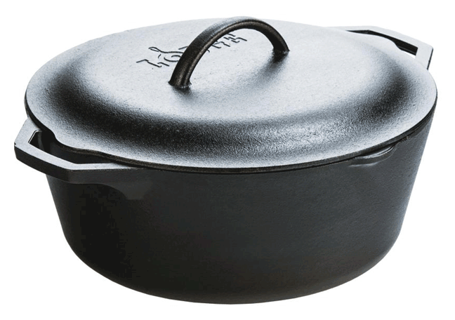 Lodge Dutch Oven Vansage Campsite Cooking Equipment