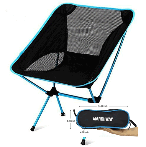 Campsite Cooking Equipment Vansage Marchway Folding Chair