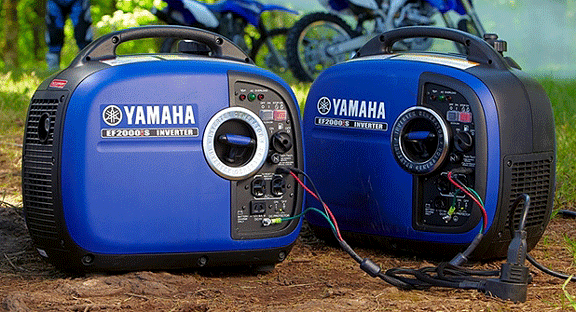 vansage best quiet generators Yamaha