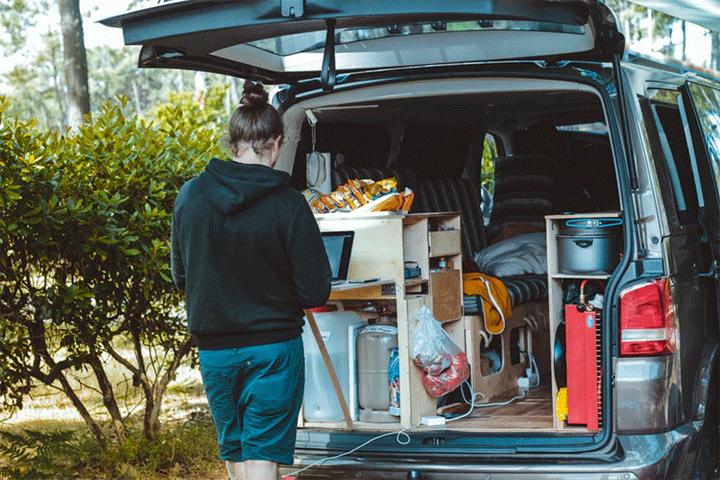 campervan kitchen vansage survive vanlife with your partner