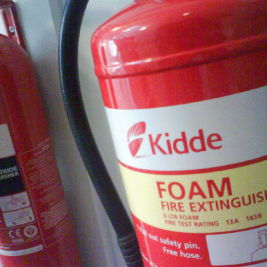 Vansage What are the fire extinguisher types Vansage