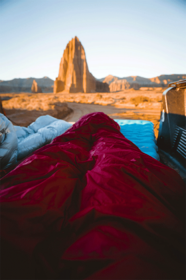 vanlife sleep vansage campervan bedding