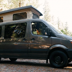 Roof vent for campervan air quality: Vent, fan & vent cover info