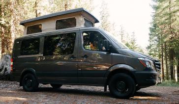 Renting a Sprinter camper van vansage Renting a Sprinter camper van