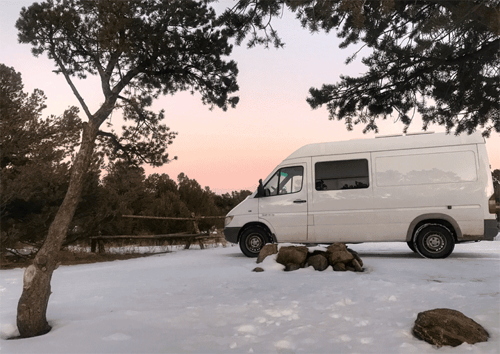 Top ten steps to prepare your Campervan for winter Vanlife Vansage