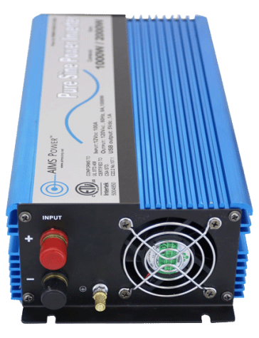 Power inverter for Campervan vansage aims power 1000w pure sine