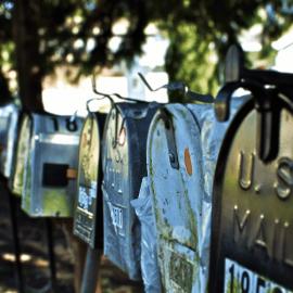 Mail Boxes Vansage Vanlife