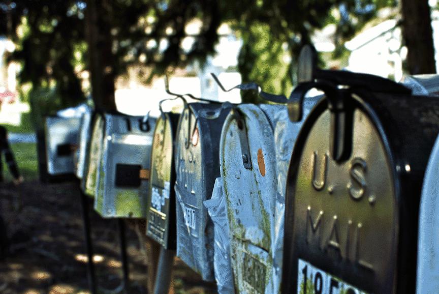 Mail Boxes Vansage Vanlife campervan mail packages
