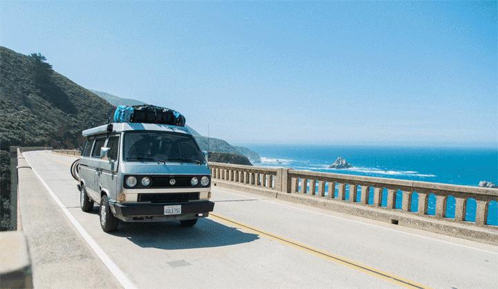 campervan view Remote jobs for van life vansage