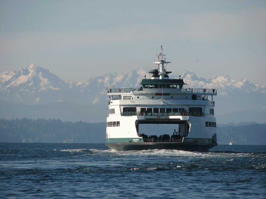 Wa state ferry Wenatchee Seattle Campervan Rental Vansage