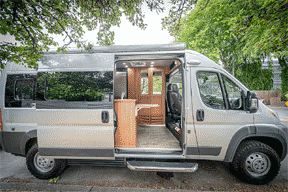 available vansage campervan rental Seattle
