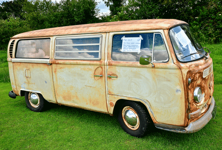 Vansage used campervan for sale by owner rusty VW