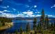 Vanlife Quarantine vansage Granby Lake Colorado view