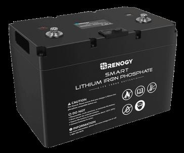 Renogy 12v 100ah deep cycle vansageBest battery for campervan