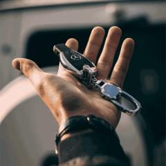 Mercedes sprinter Vansage Campervan Hide a key